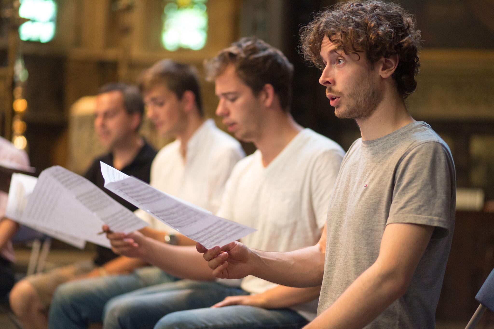 Lacock Scholars concert london