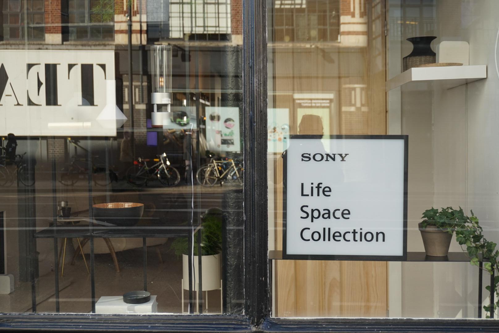 Sony pop up