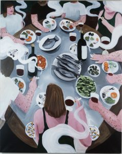 3 untitled dinner party150x120cm copy