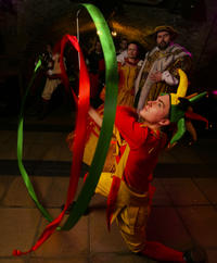 medieval banquet and merriment by torchlight in london in london 149515