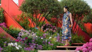 rhs chelsea flower show the silk road garden at rhs chelsea flower show 2017 copyright rhsgeorgi mabee image courtesy of rhs 88923200f2249f19f62a6a3d7c029ca8