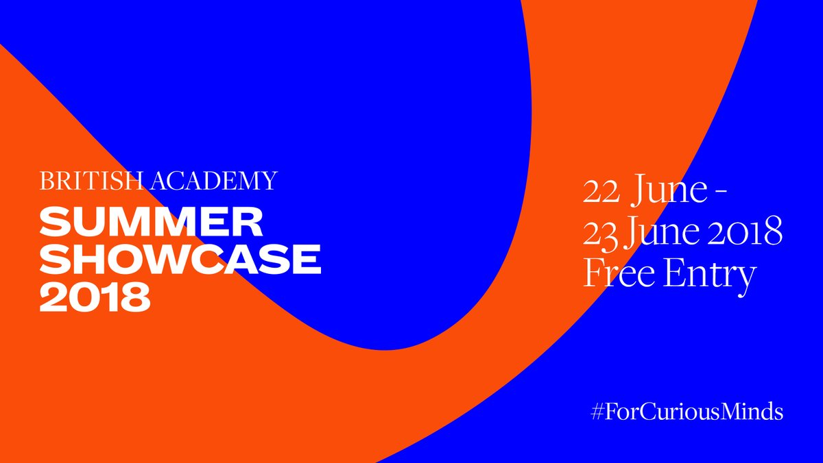 British Academy Summer Showcase Poster