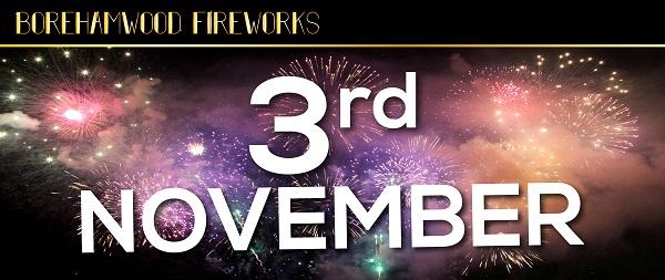 Borehamwood Fireworks slide