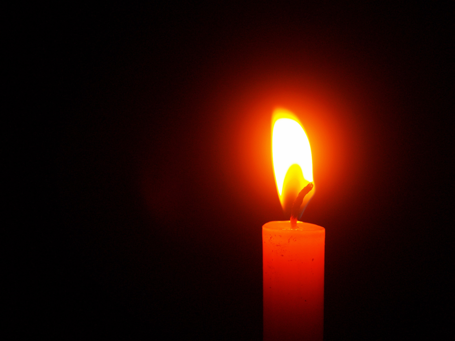 candle reversed