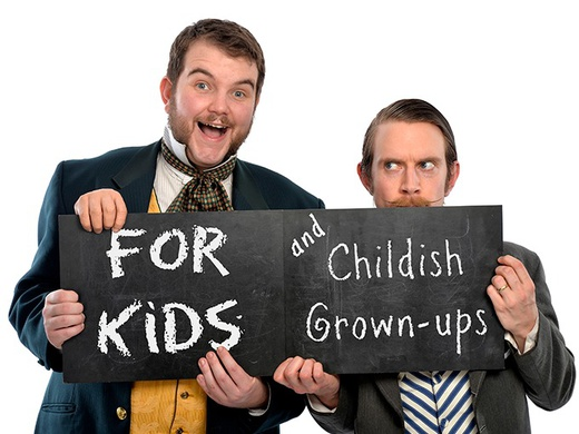 For kids and childish grownups