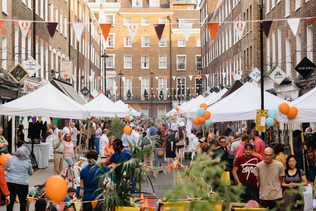 Marylebone Summer Street Party 400