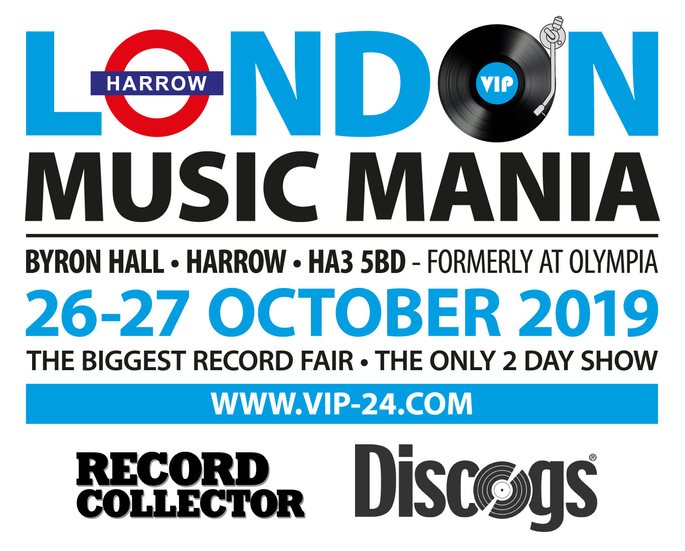 London MusicMania Social Media with sponsors