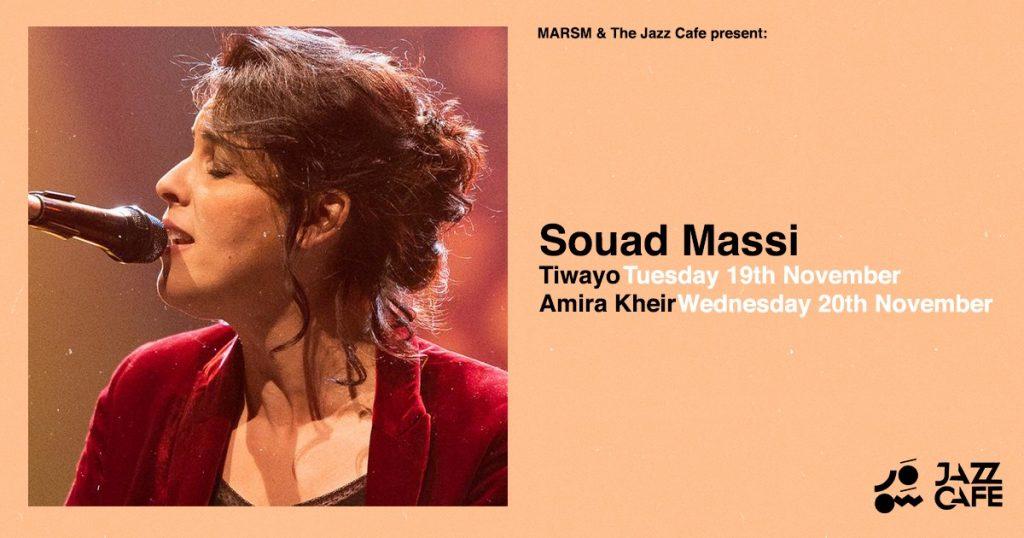 Souad Massi jazz cafe