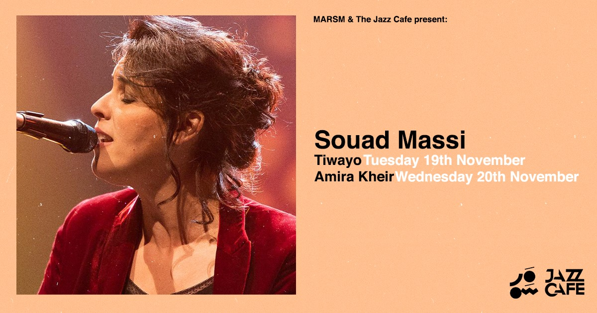 Souad Massi jazz cafe