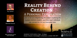 Reality Behind Creation Event