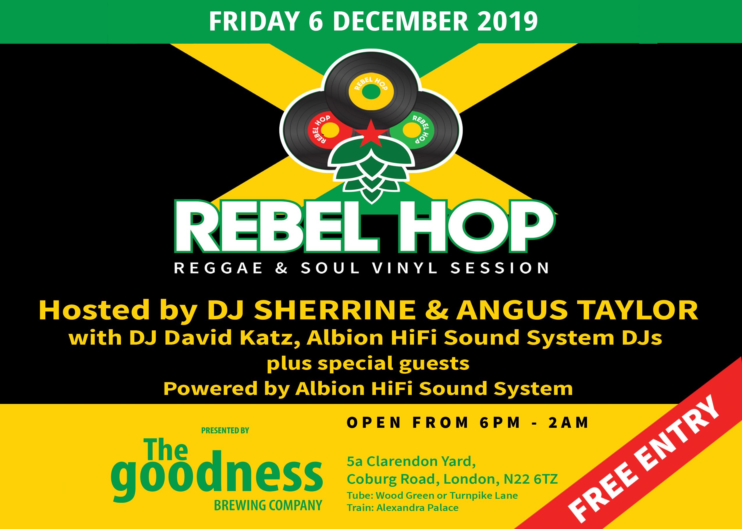 Rebel Hop 6 December landscape promo