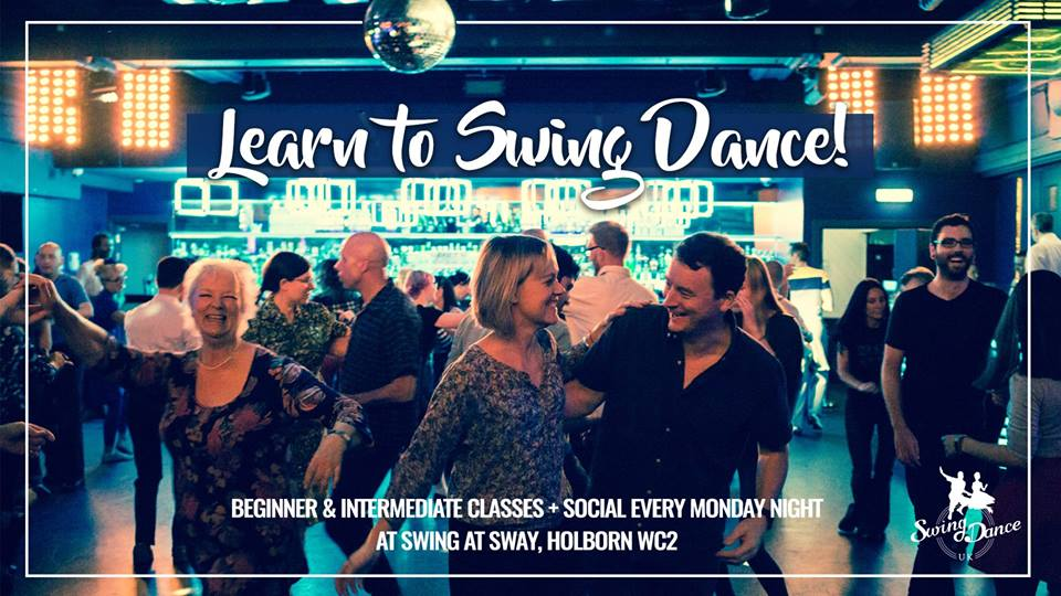 Swing at Sway Swing Dancing every Monday night