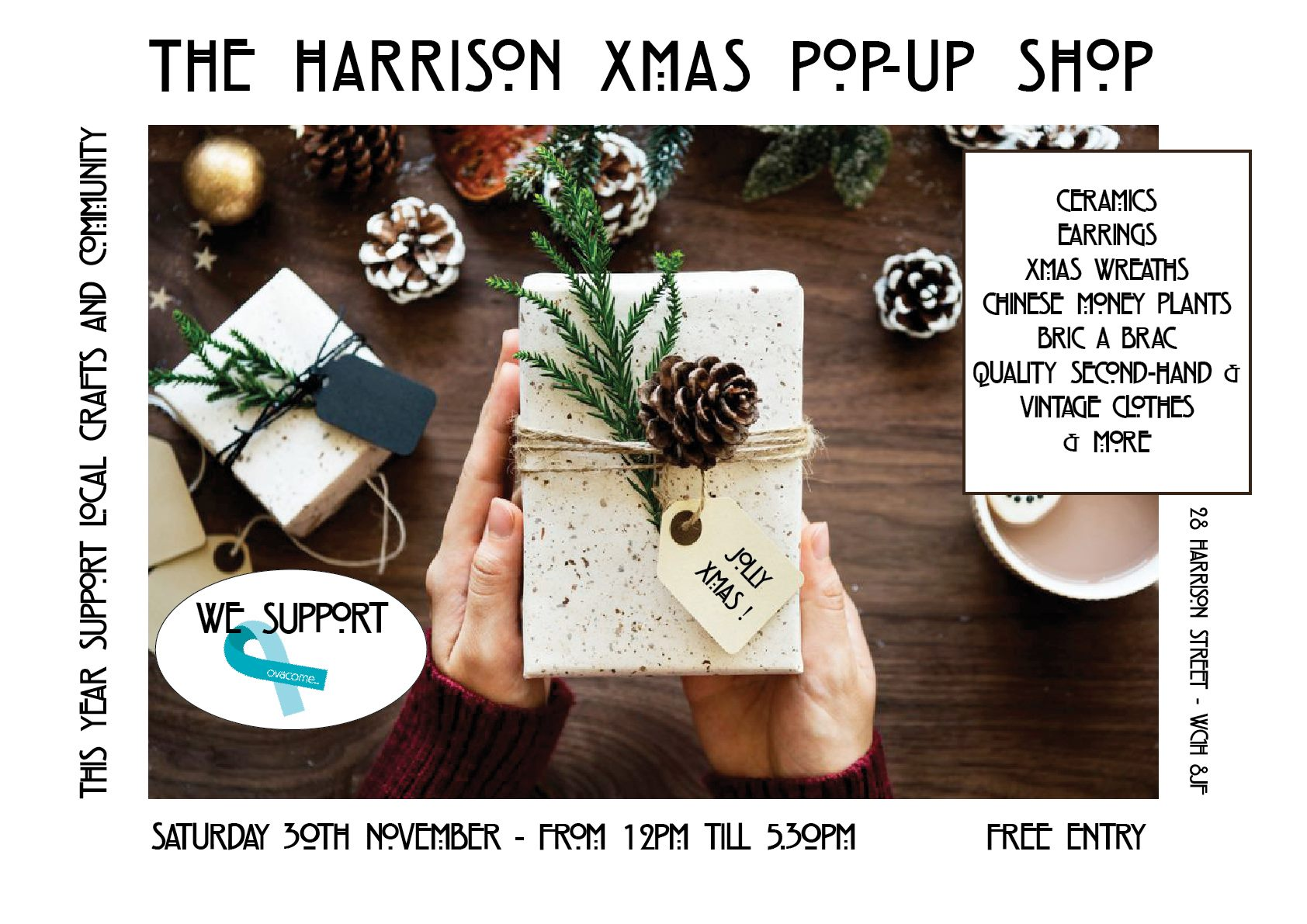 Christmas Pop Up Craft Shop Events For London