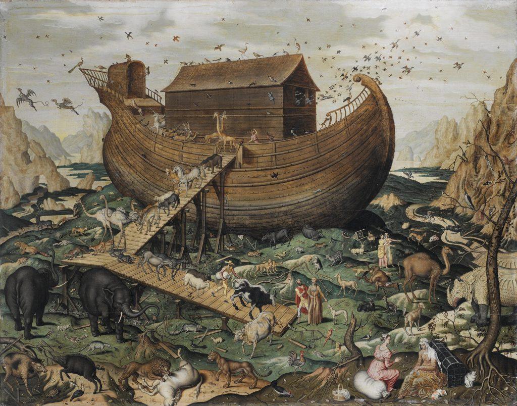 Noahs Ark on Mount Ararat by Simon de Myle