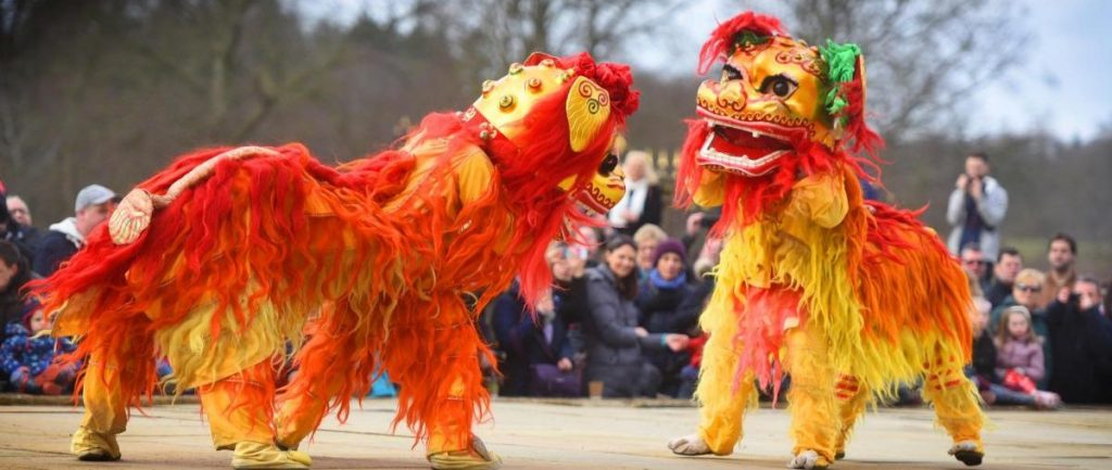 Chines Lion Dance London