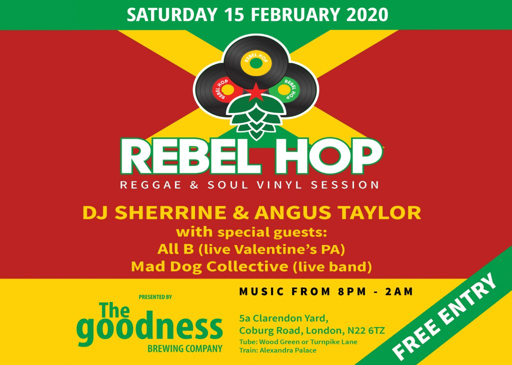 Rebel Hop 15 February 2020 landscape