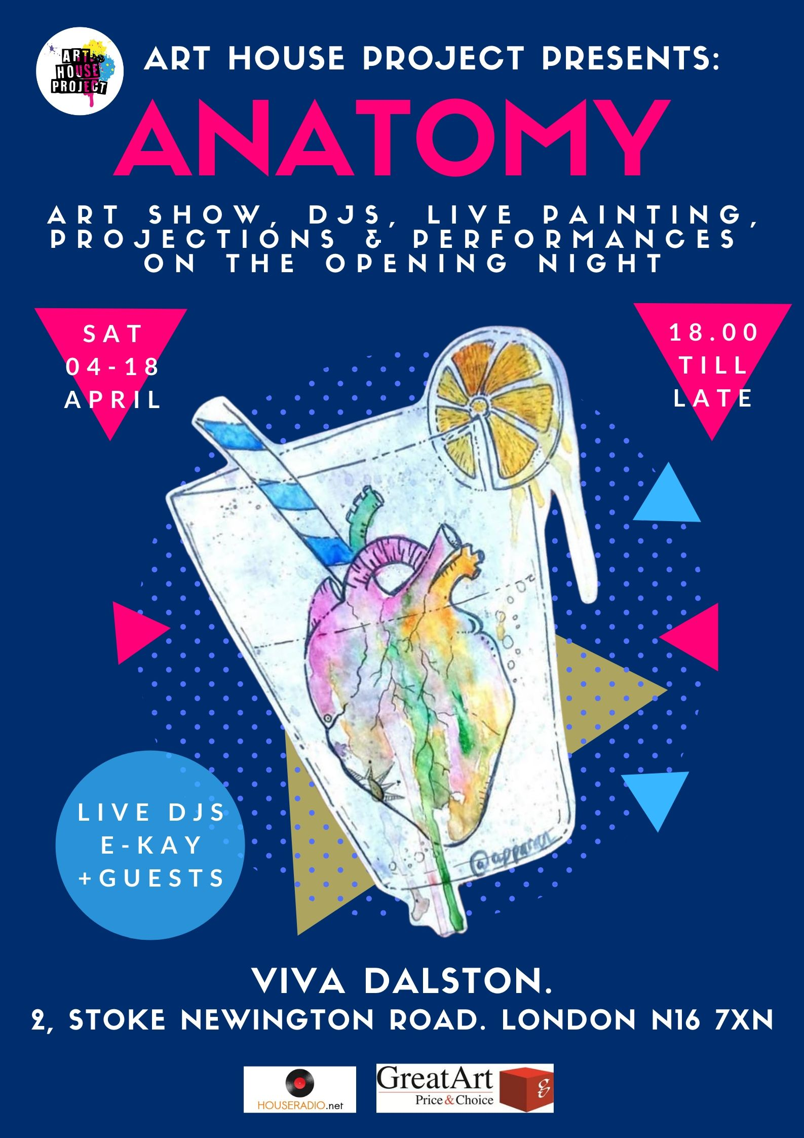AHP ANATOMY SHOW POSTER