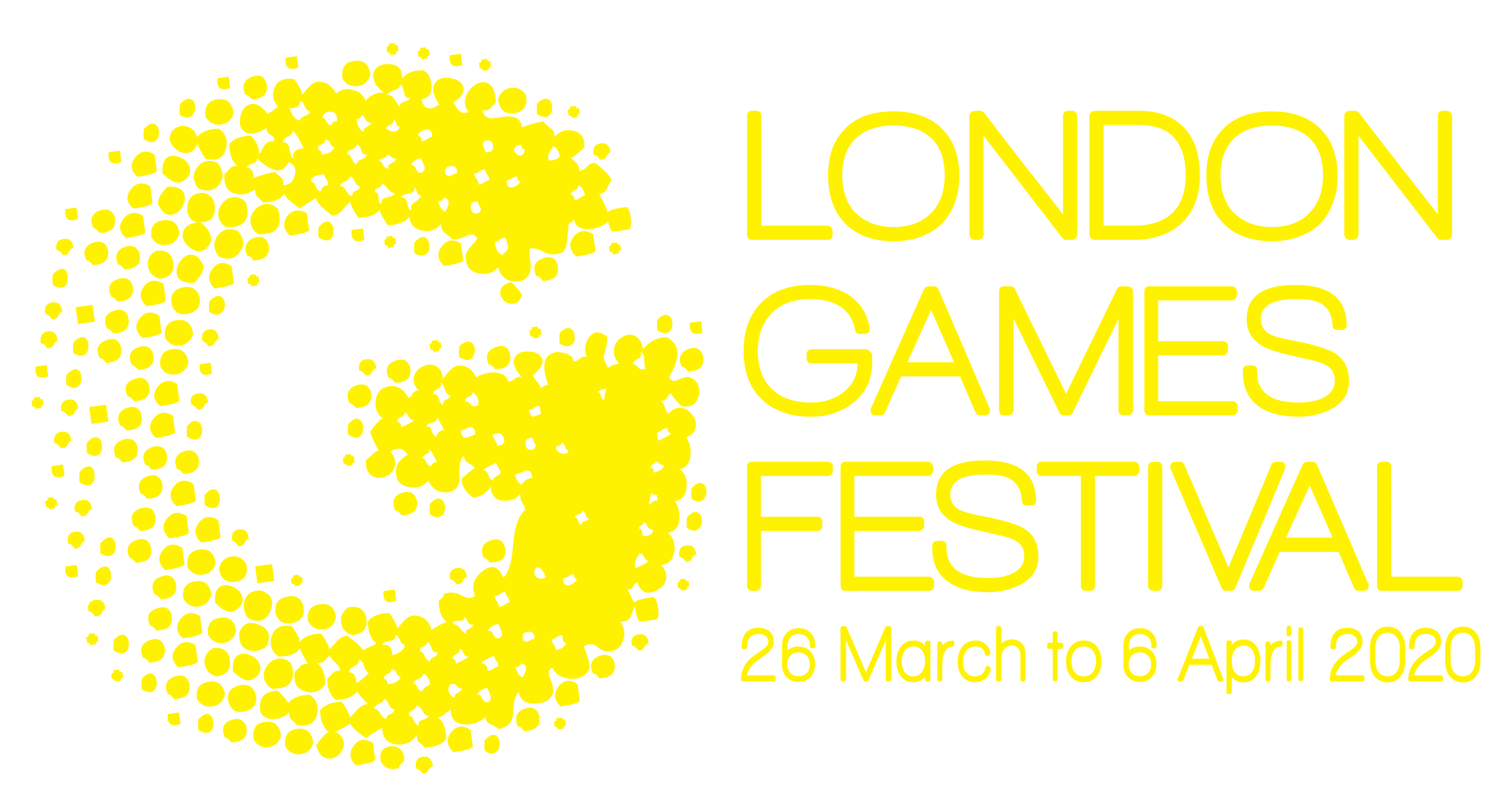 London Games Festival 2020 Logo Yellow