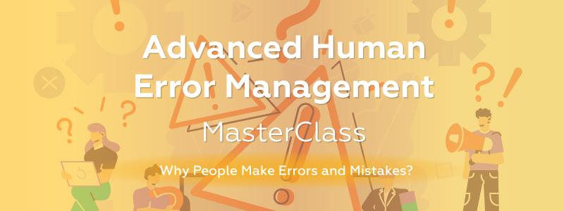 Advanced Human Error sep header nodate