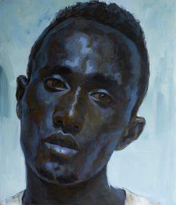 Tewodros Hagos Untitled 2020 Acrylic on canvas 130 x 110 cm 2 2 min