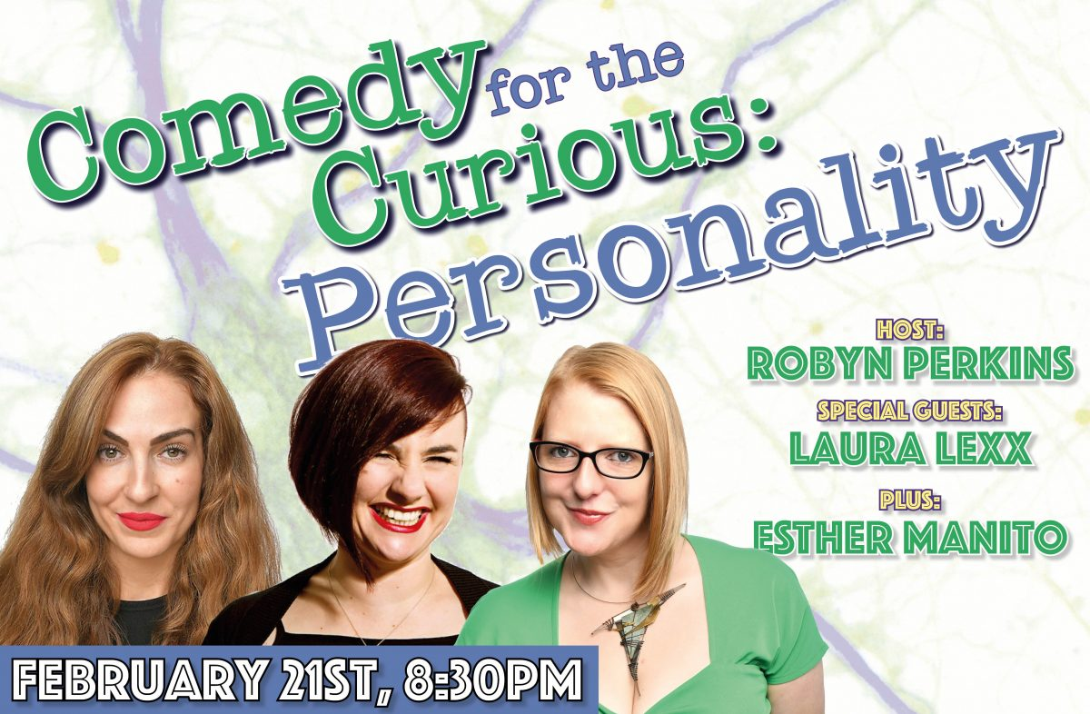 Comedy Club in London with Robyn Perkins