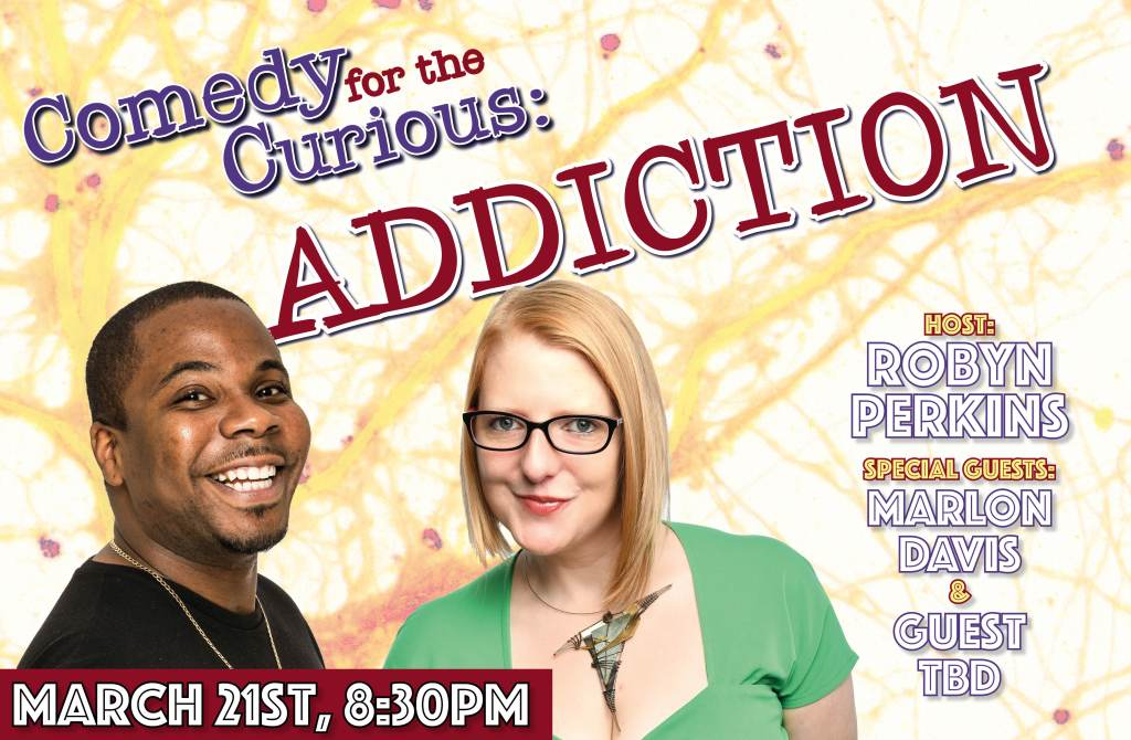 Comedy Show in London with Robyn Perkins and Marlon Davis