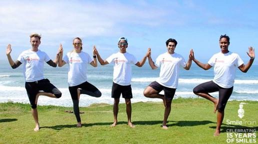 Smiles Online Yoga Event