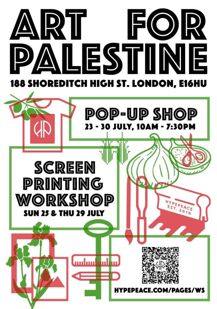 Screen Printing Workshop in London