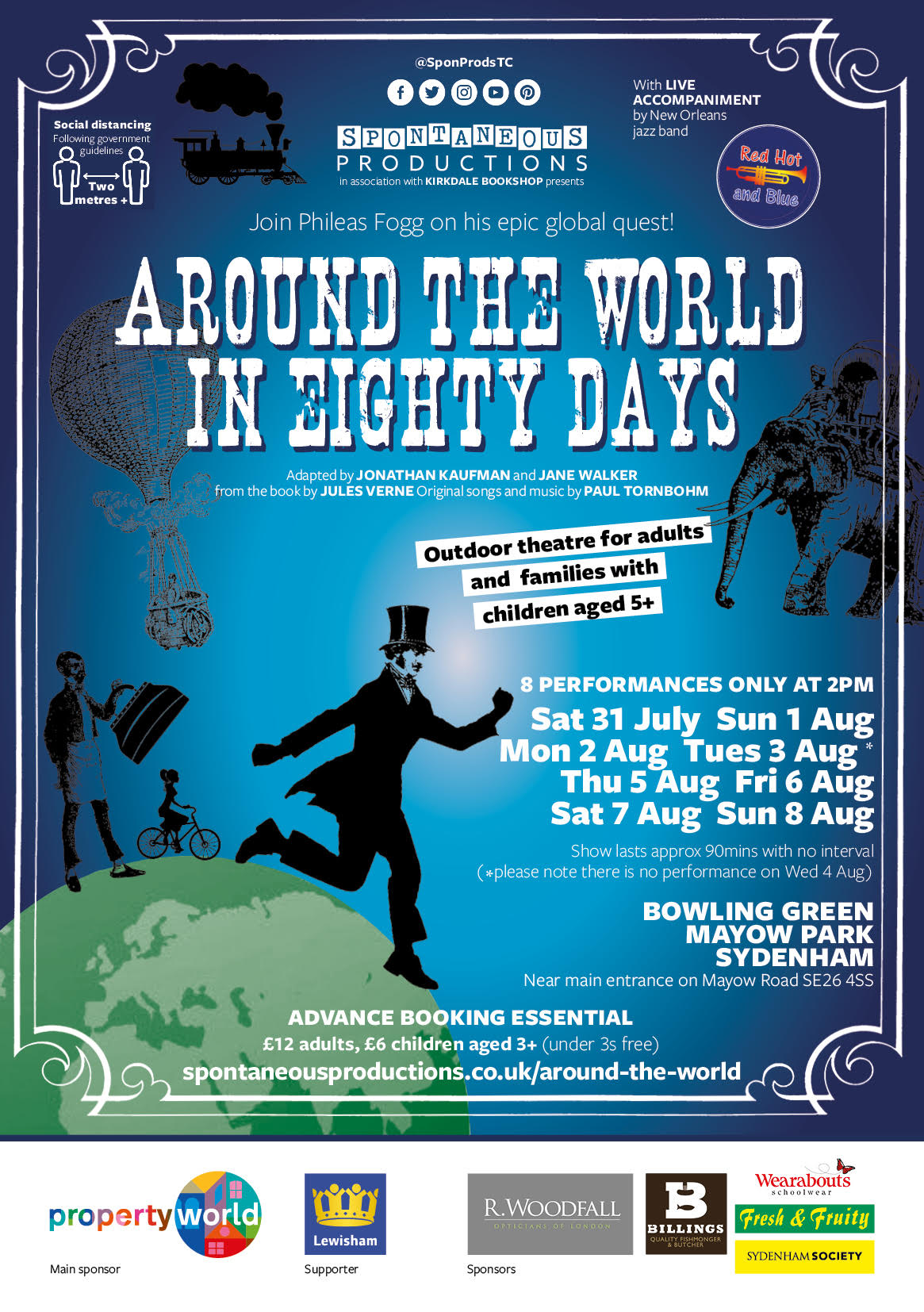 London Outdoor Theatre Events
