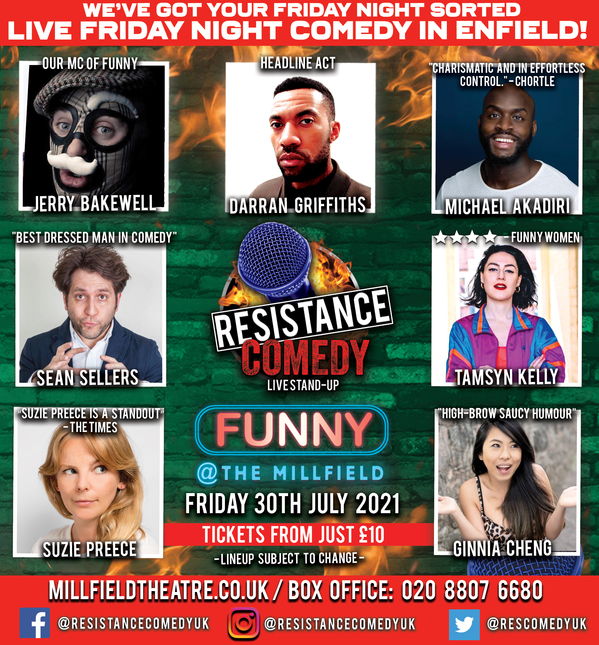 Stand Up Comedy Enfield