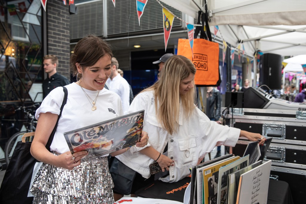 Record Shopping in London