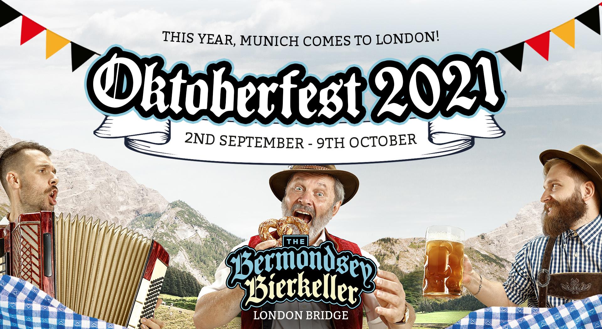 Oktoberfest Parties in London