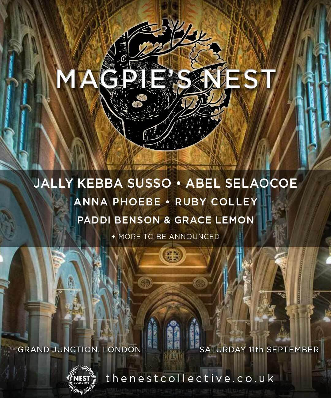 Music Festival in London - Magpies Nest