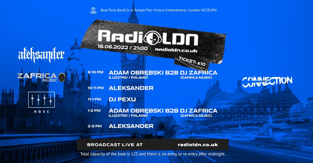 radio london boat party stream live