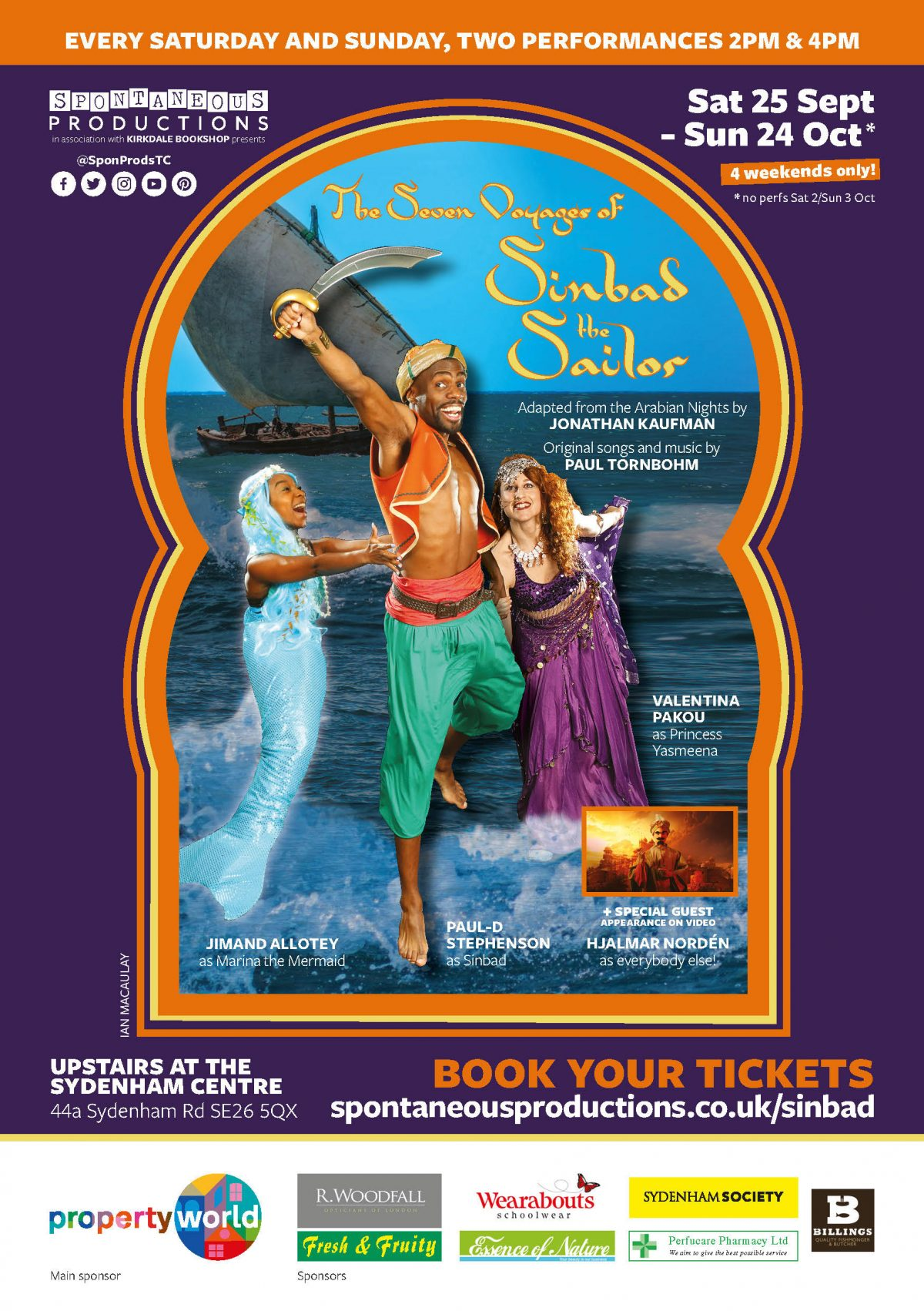 Sinbad - London Theatre