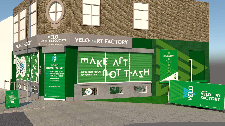 Velo Art Factory Gallery Exhibition