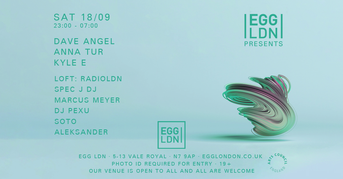egg london cover party radioldn
