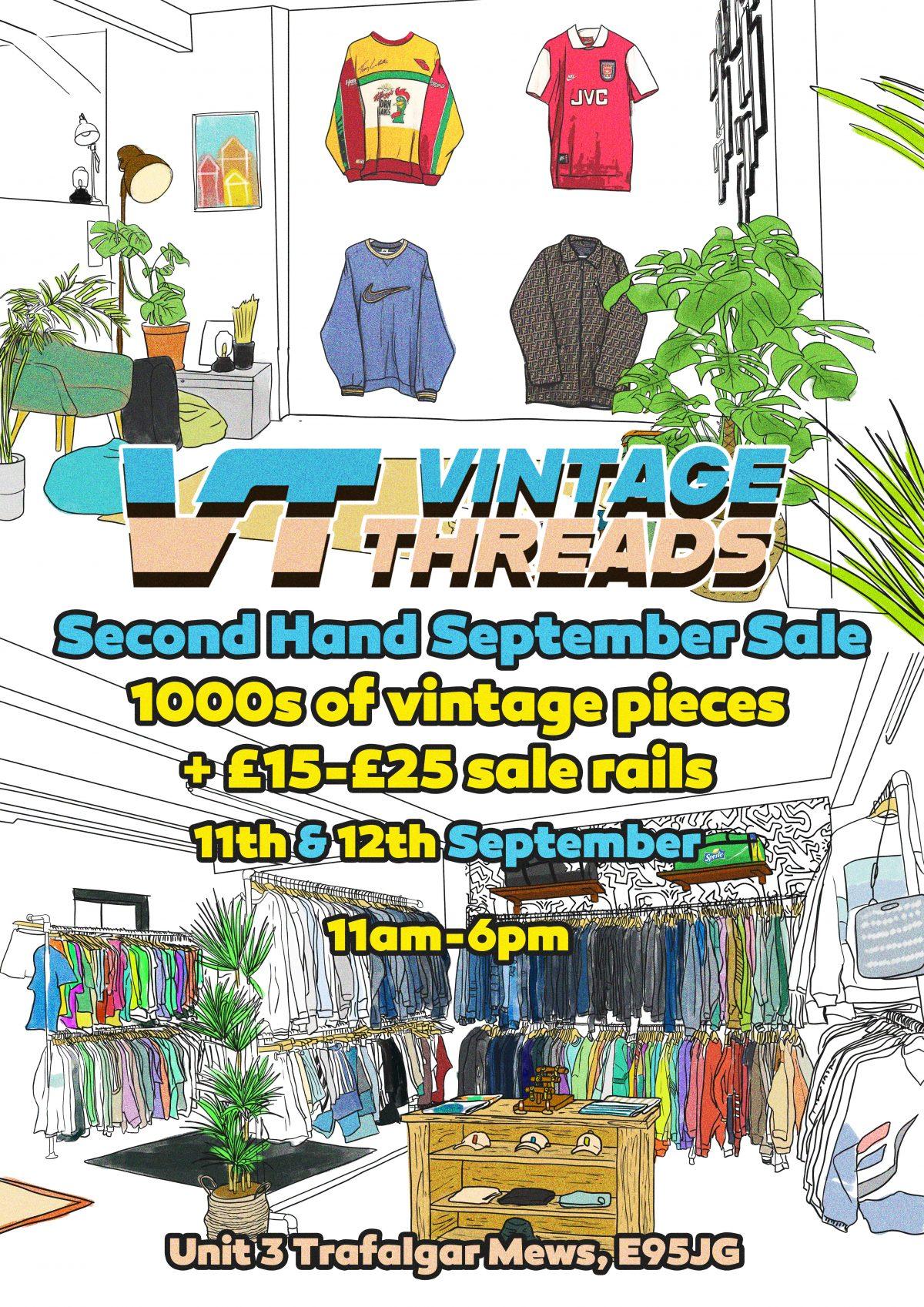 vintage items - second hand yard sale