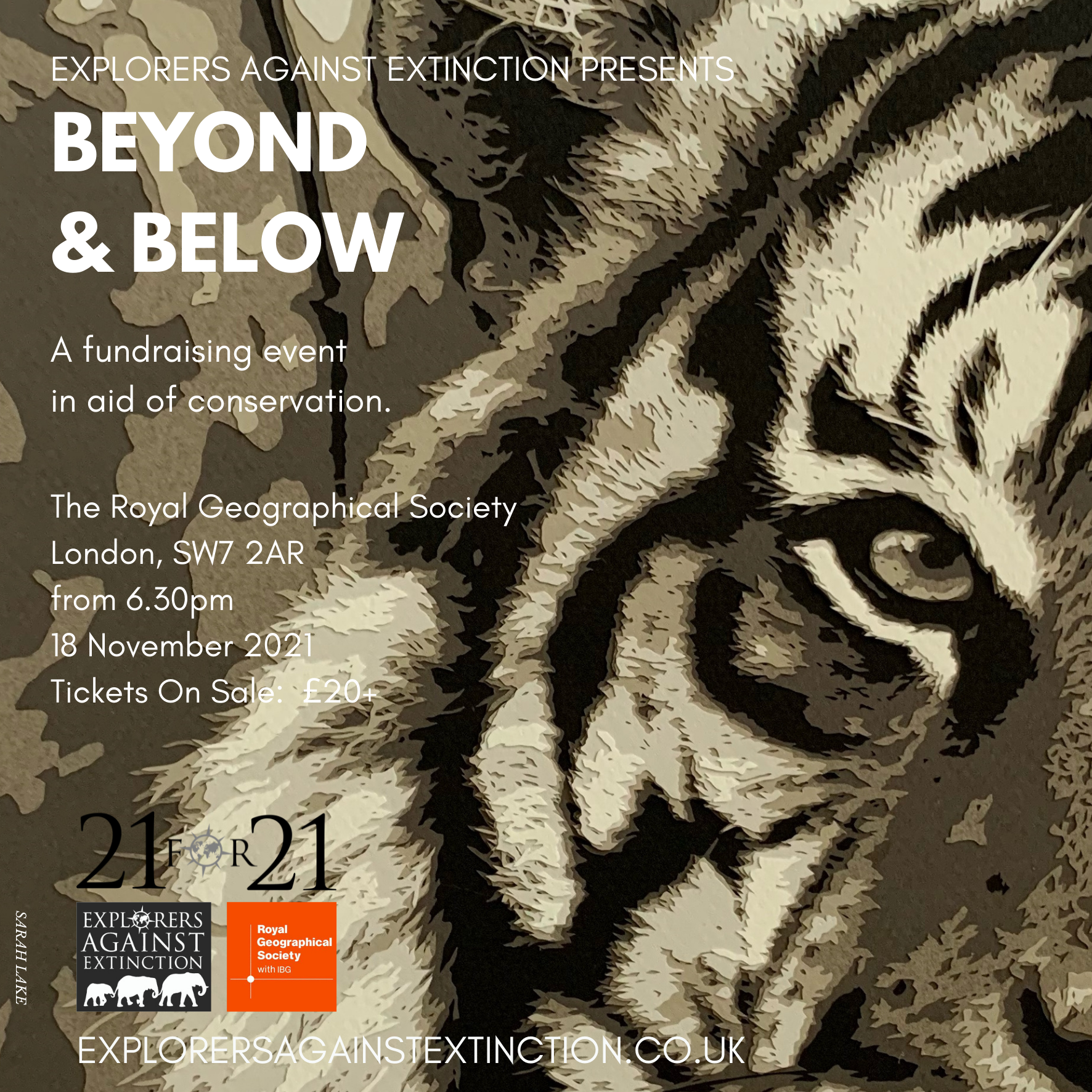 Conservation Charity Event in London